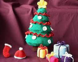 Christmas Tree Crochet Pattern Gifts Amigurumi Presents
