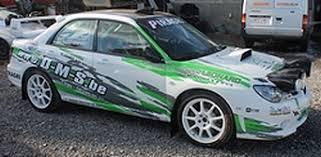 deco voiture de rallye laurent léonard voitures
