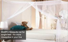 buzifu moskitonetz einzelbett mückennetz fliegennetz reise moskitonetz feinmaschiges moskitonetz für bett rechteckiges cing netz insektenschutz