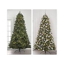 9 Ft Flocked Pencil Christmas Tree by Christmas Trees Hsn