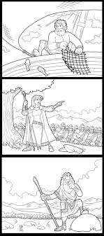 New Bible Hero Coloring Pages By ArtistXero