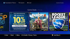 PS4 DISCOUNT CODE SPECIAL LIMITED TIME OFFER FROM PLAYSTATION STORE Offer  Ends December 1st