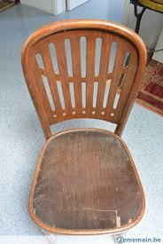 chaises thonet a vendre chaise thonet modèle à identifier a vendre 2ememain be