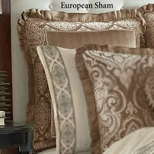 J Queen Celeste Curtains by Stafford Medallion Comforter Bedding By J Queen New York