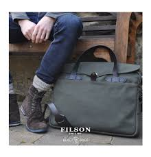 filson original briefcase otter green perfect bag with style and