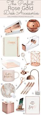 the gold desk accessories emily s tips