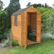 Keter Manor Plastic Shed 4 X 6 by 6x4 Forest Apex Overlap Wooden Shed Departments Diy At B U0026q