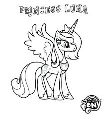My Little Pony Coloring Pages Princess Celestia And Luna 2512710