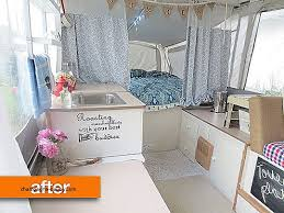 Rv Outdoor Shower Curtain Unique Before After Sarah S Sweet Pop Up Camper