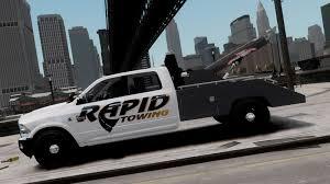 100 Gta 4 Tow Truck 2012 Dodge RAM Power Wagon Rapid Ing Skin GTA IV