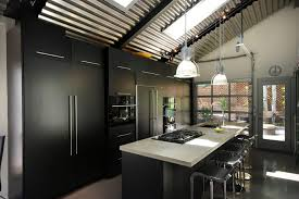 industrial island lighting kitchen industrial with neutral colors