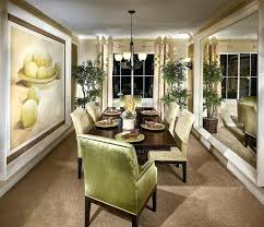 Dining Room Pictures Ideas Fashionable Curtain For Decorating Small
