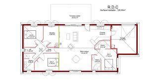 plan maison 90m2 plain pied 3 chambres maison avec suite parentale