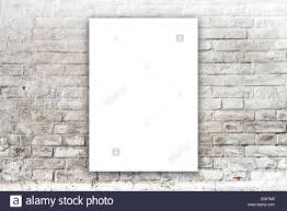 Poster Hanging On The Art Gallery Wall Paper Size Matches International A1 Format With Vertical Orientation