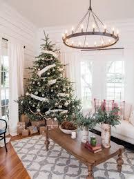 Popular Artificial Silver Tip Christmas Tree by 50 Christmas Tree Decorating Ideas Hgtv
