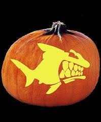 Easy Shark Pumpkin Carving by Image Gallery Shark Pumpkin