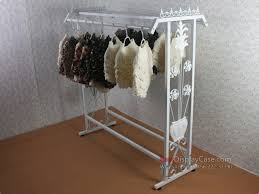 GR046 Modern Decoration Clothing Store Display Commercial Racks