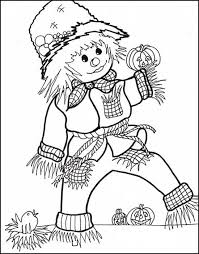 Halloween Coloring Fall Pages And