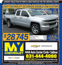 Weekly Sales And Specials In Salinas, CA | Monerey Chevrolet | MY ... Best Body Shop Mexico Collision Center Lowrider Magazine This Is The Tesla Semi Truck The Verge Truck Land Office For Sale Offispacecom Centre Du Camion Rb Truckers Handbook And Saving Food Nirvana That Civic Eats Returns May 2 Gms Classic Show Marines Sailors Rticipate In Grubstake Days Parade Marine White Celebrated Local Culture Seahawks Fun 6500 New Pickup Trucks Are Sold Every Day America Drive Last Four Missing Soldiers Found Dead After Fort Hood Accident Used Ford Dealer At Sheehy Of Warrenton