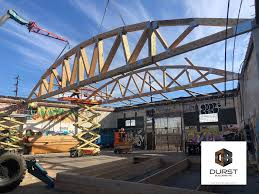 104 Bowstring Truss Design Es In Vintage L A Warehouse New Roof Structure Durst Builders