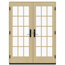 Outswing French Patio Doors by French Patio Door Patio Doors Exterior Doors The Home Depot