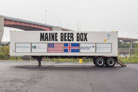 100 Truck Driving Schools In Maine Sends A Shipment Of Beer In A Truck To Iceland