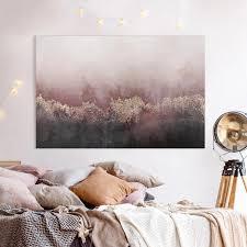 leinwandbild goldene dämmerung rosa querformat 2 3 in