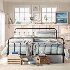 DESIGNER MONACO QUEEN SIZE BLACK METAL BED FRAME Queen Beds