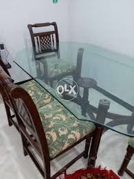 Glass Top Dining Table For Sale In Islamabad Used