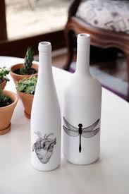 Decorative Wine Bottles Ideas by 411 Best Bottle Crafts Images On Pinterest Wine Bottle Crafts