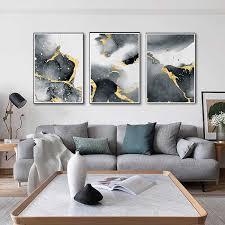 große ölgemälde gold grau neue abstrakte licht luxus dekorative malerei tapete poster geeignet für wohnzimmer schlafzimmer cor