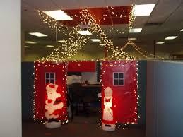 cubicle christmas decorating contest ideas designcorner