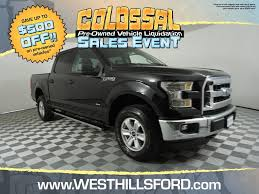 Pre-Owned 2016 Ford F-150 XLT 4WD SuperCrew 145