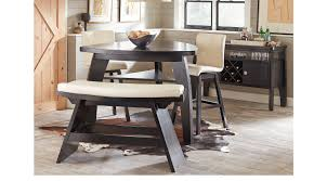 Sofia Vergara Dining Room Furniture by Noah Chocolate 4 Pc Bar Height Dining Room With Vanilla Barstools