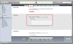 info tab apple iphone