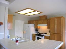 kitchen kitchen neon ceiling lighting with recessed cover for