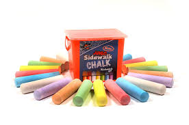 Amazon.com: Regal Games Chalk City - 20 Piece Jumbo Washable ...