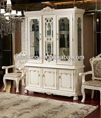 Luxury French Style Dining Room Furniture Showcase Cabinet Sideboard