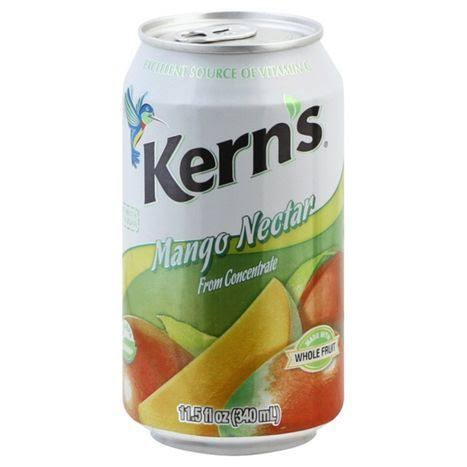 Kerns Juice, Mango Nectar - 11.5 fl oz