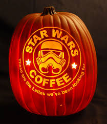 New Stormtrooper Pumpkin Stencil by Static Halloween Pumpkins For 2013