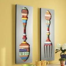 Wall Art Design Ideas More Furniture Fork And Spoon Seating Touch Sophistication Space