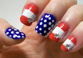 Top 10 July 4th Nail Art Designs – Best Simple Home Manicure For ... 65 Easy And Simple Nail Art Designs For Beginners To Do At Home Design Great 4 Glitter For 2016 Cool Nail Art Designs To Do At Home Easy How Make Gallery Ideas Prices How You Can It Pictures Top More Unique It Yourself Wonderful Easynail Luxury Fury Facebook Step By Short Nails Short Nails