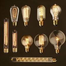 e27 40w vintage retro filament edison antique industrial style