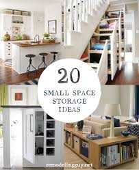 Small Space Storage Solutions 20 Ideas Remodelingguy