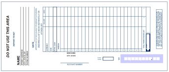 Deposit Slip Template Excel Free