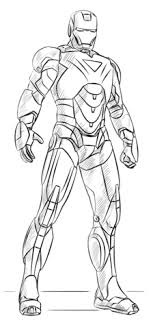 Click To See Printable Version Of Iron Man Coloring Page
