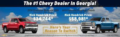 100 Tucker Truck Parts Rick Hendrick Chevrolet Duluth New Chevy Dealership Near Atlanta