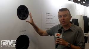 Sonance In Ceiling Speakers by Cedia 2016 Sonance Highlights Professional Series Of In Ceiling