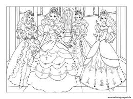 Charmingbeautiful Printable Barbie Cartoon Coloring Pages For Kids