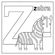 Dibujo De Avestruces Y Elefantes En El Zoológico Para Colorear